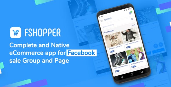 fShopper | Android app for Facebook Page or Group