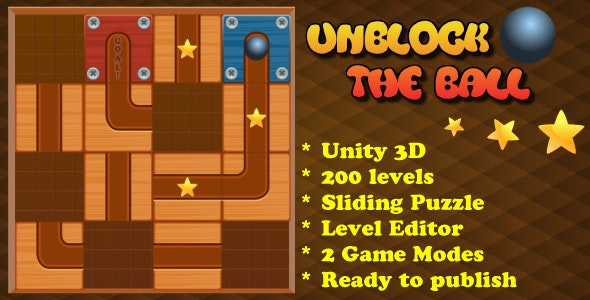 Unblock The Ball Sliding Puzzle by SandBoxGames | CodeCanyon