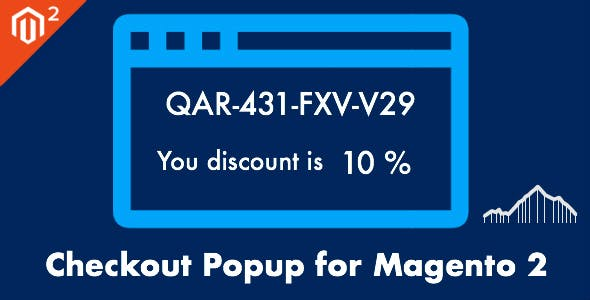 Coupon Popup - Get Coupon Code with Discount for the Next Order Magento 2