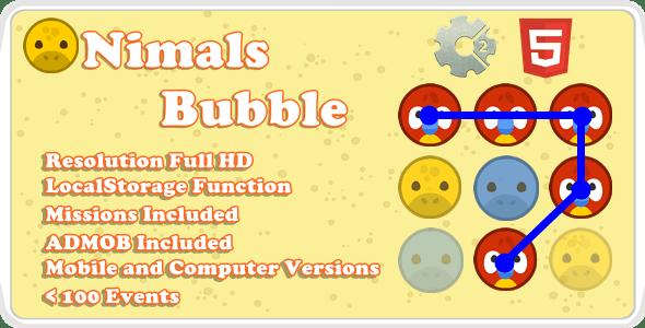 Animals Bubble - Template (.capx)