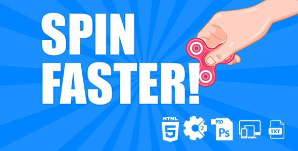 Spin Faster HTML5 Game