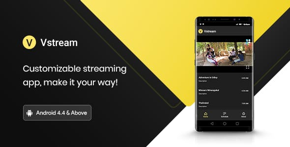 V Stream - Video Streaming Application