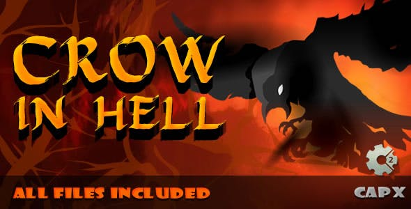 Crow in Hell - (.CAPX & .HTML) Game!