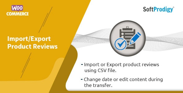 Woocommerce Import/Export Product Reviews - CodeCanyon Item for Sale