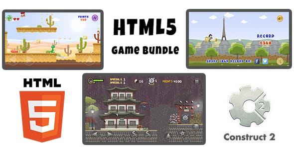 Game Bundle #01 (jmneto) - Three (03) HTML5 Games (Construct 2)