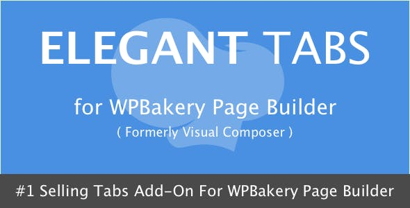 Elegant Tabs for WPBakery Page Builder
