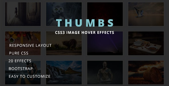 THUMBS - Image Hover Effects by krsankarkr | CodeCanyon