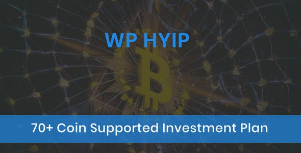 WPHYIP - CryptoCurrency Investment Wordpress Plugin