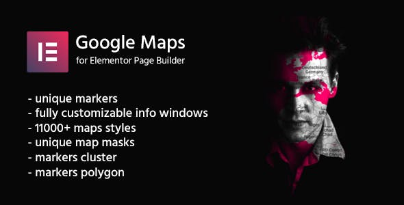 Google Maps for Elementor | CreaMaps