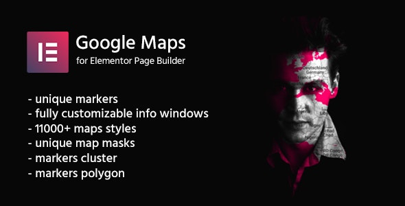 Google Maps for Elementor | CreaMaps by elanta | CodeCanyon