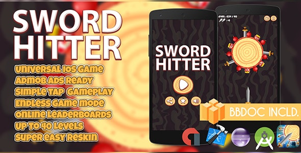 Sword Hitter Buildbox (BBDOC + Android Studio + Eclipse + Xcode) - CodeCanyon Item for Sale