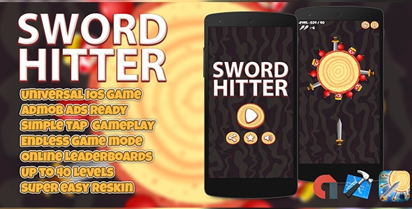 Sword Hitter + Admob IOS (XCODE 7 & 8) - CodeCanyon Item for Sale