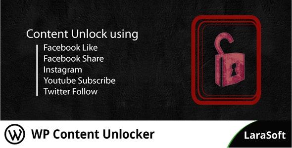WP Content Unlocker - CodeCanyon Item for Sale