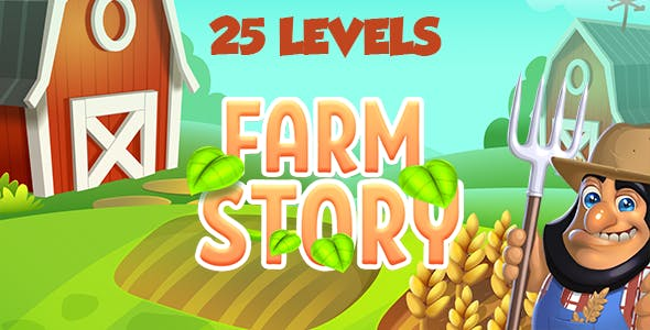 Farm Story HTML5 Game [ 25 levels ]