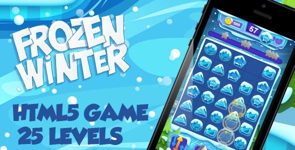 Frozen Winter HTML5 Game [ 25 levels ]