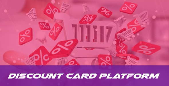 DiscountCard - Discount Card Selling Platform by THESOFTKING