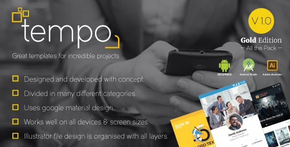 Tempo (Gold Edition) Great templates for incredible projects