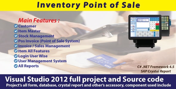 Sales And Inventory Management System | POS System with Full Project & Source Code - CodeCanyon Item for Sale
