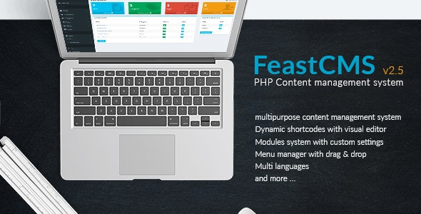 Feast cms v2.5 - PHP Content management system - CodeCanyon Item for Sale