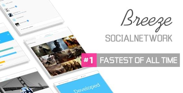 Breeze Lite - Social Network Platform