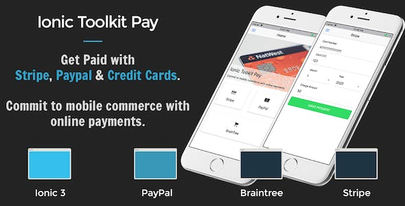 Make A Online Payment App With Mobile App Templates