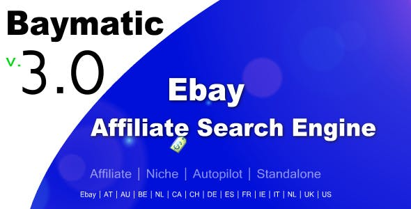 Baymatic - Affiliate Ebay Search Engine
