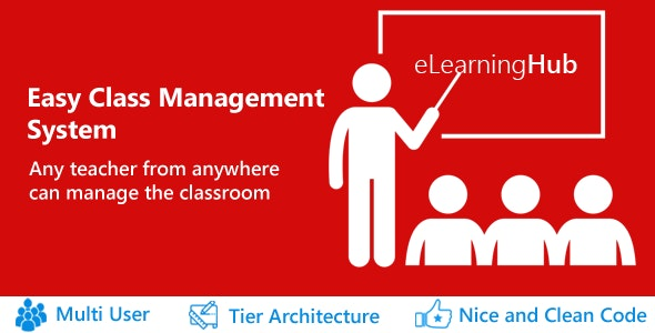 eLearningHub - Easy Class Management system - CodeCanyon Item for Sale