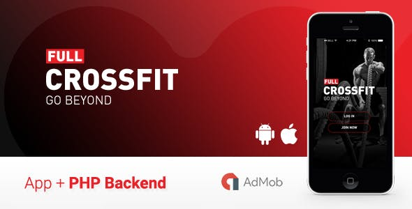 CrossFit - Full Fitness App - Ionic 1