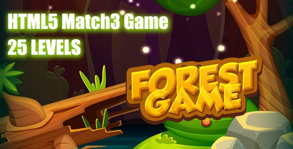 The Forest HTML5 Game [ 25 levels ]