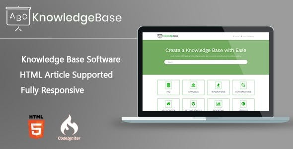 KnowledgeBase PHP Software