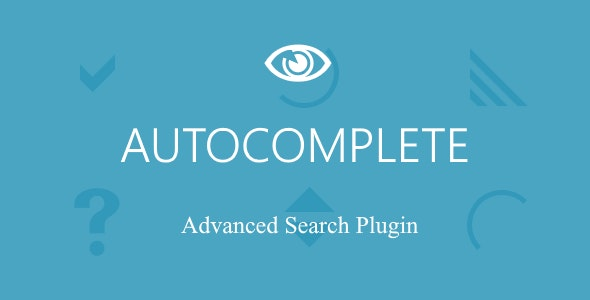 Autocomplete - Advanced Search and Autocomplete Jquery Plugin - CodeCanyon Item for Sale