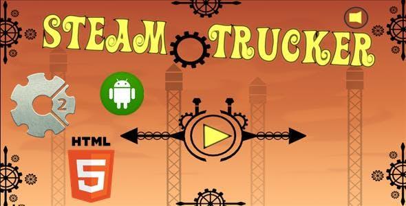 Steam Trucker - HTML5 Mobile Game (Capx)