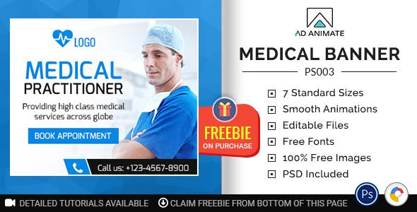 Professional Services | Medical Banner (PS003)