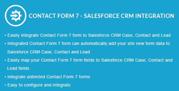Contact Form 7 - Salesforce CRM Integration
