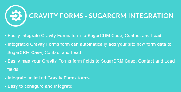 Gravity Forms - SugarCRM Integration