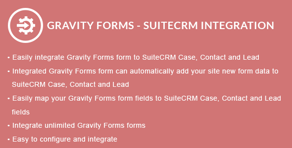 Gravity Forms - SuiteCRM Integration