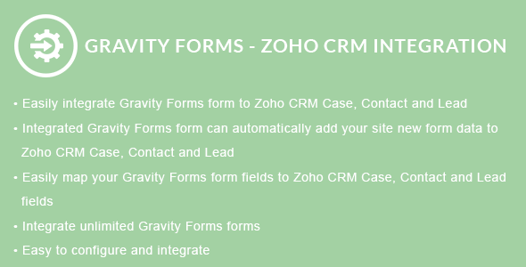 Gravity Forms - ZOHO CRM Integration
