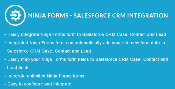 Ninja Forms - Salesforce CRM Integration