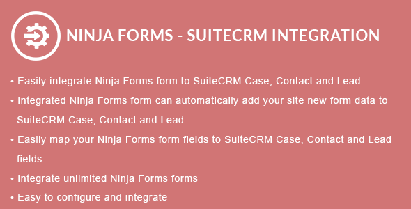 Ninja Forms - SuiteCRM Integration