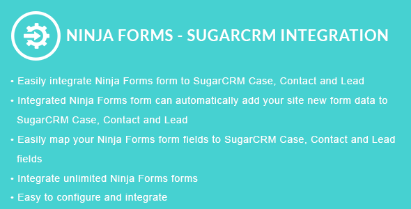 Ninja Forms - SugarCRM Integration