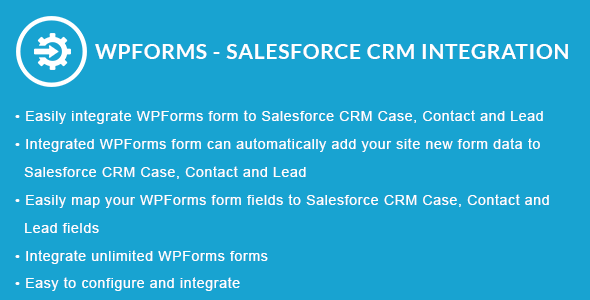 WPForms - Salesforce CRM Integration