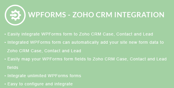 WPForms - ZOHO CRM Integration