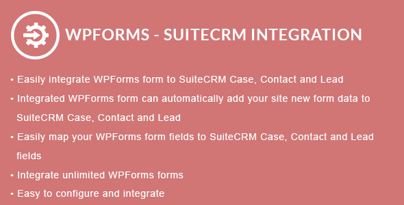 WPForms - SuiteCRM Integration
