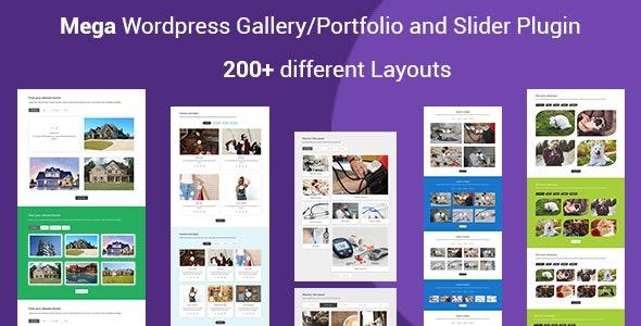 Mega Portfolio - Filterable Portfolio Gallery Responsive WordPress Plugin - CodeCanyon Item for Sale