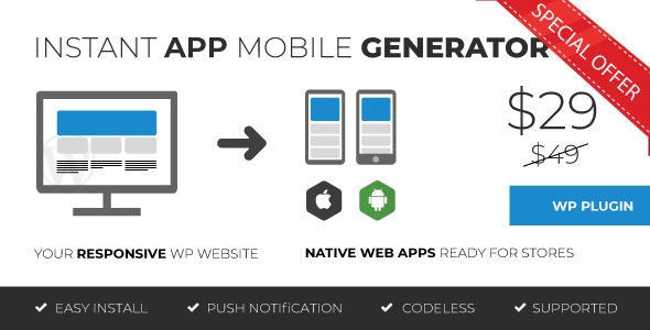 moZable - Instant Mobile App Generator by DigitalBorder | CodeCanyon
