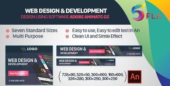 Web Design & Development HTML 5 Banners Animated