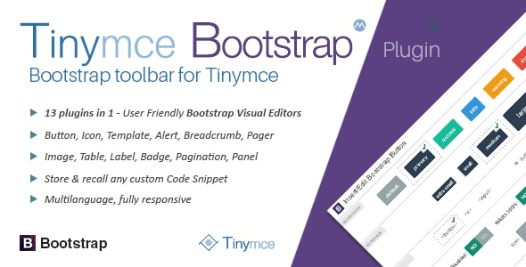 tinyMce Bootstrap Plugin by migli | CodeCanyon