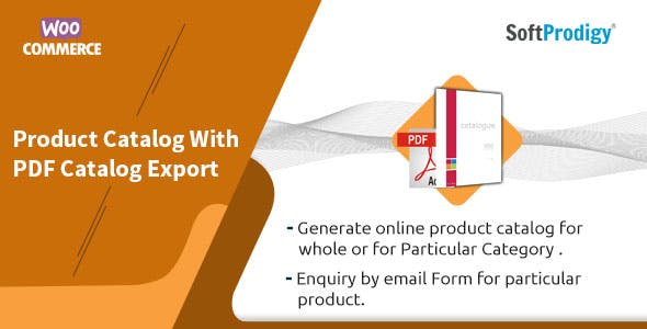 Woocommerce Product Catalog With PDF Catalog Export