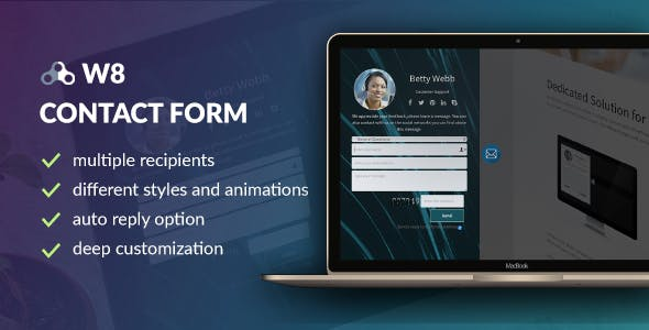 W8 Contact Form - WordPress Contact Form Plugin