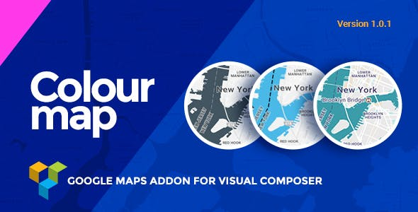 Colour Map |  Google Maps addon for Visual Composer